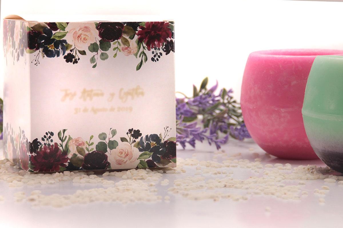 Cuencos Aromáticos como detalle para bodas